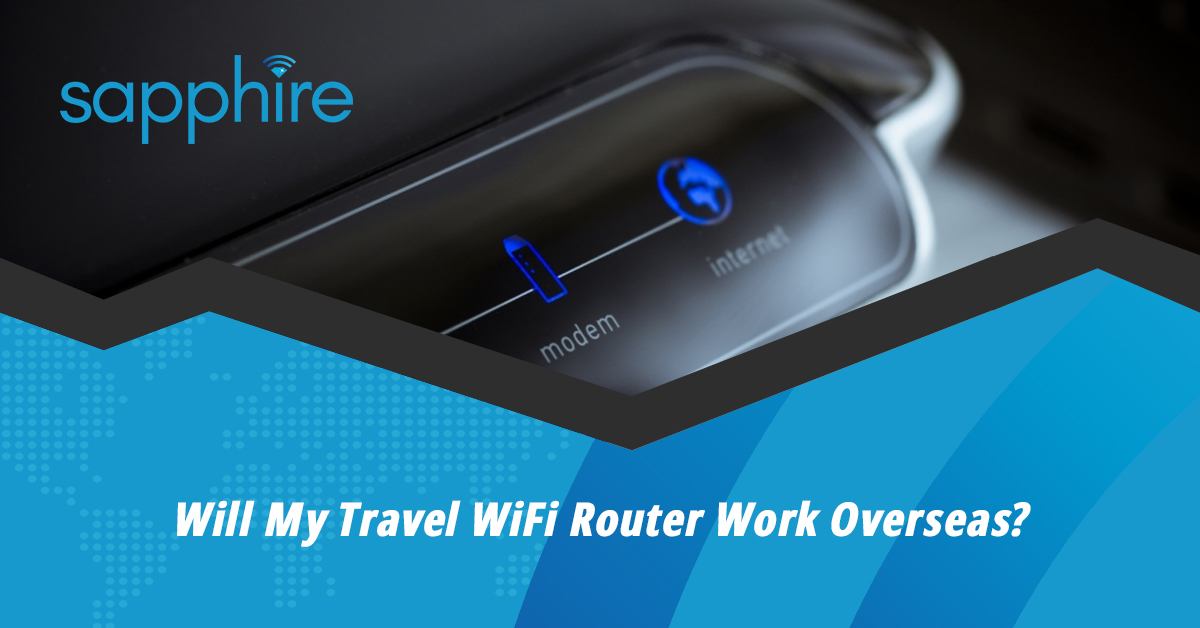 Europe Travel Wifi Router