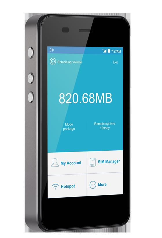 Sapphire Touch International Mobile Hotspot